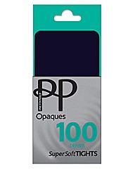 Pretty Polly 100Denier Opaque Tights Pk2
