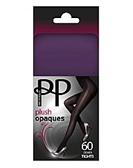 Pretty Polly Plush Opaque Tights Pk2
