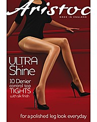 Aristoc Ultra Shine Control Tights Pk2