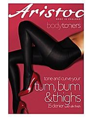 Aristoc Low Leg Toner Tights Pk2