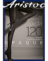 Aristoc 120 Denier Cotton Sheen Tights