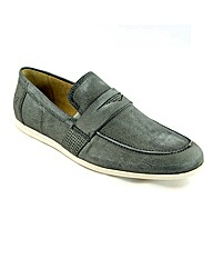 Journey Travel Grey Loafers
