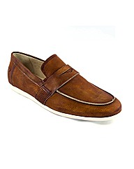 Journey Travel Tan Loafers
