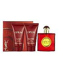 YSL Opium 50ml EDT Gift Set