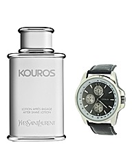 YSL Kouros 50ml EDT with FREE Watch