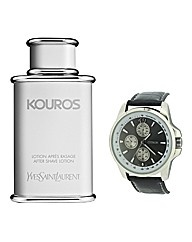 Kouros 100ml Aftershave with FREE Watch