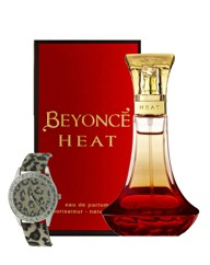 Beyonce Heat 50ml EDP + FREE Watch