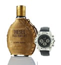 Diesel Fuel for Life Him 50ml EDT +Watch