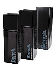 Mens Bench 100ml EDT BOGOF
