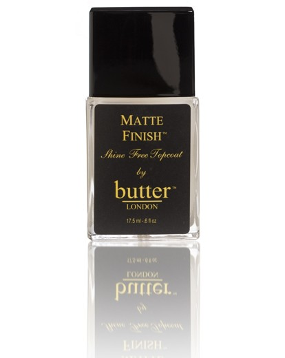 Image of Butter London Matte Finish Top Coat