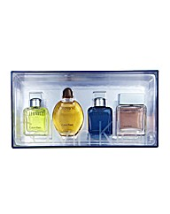 CK Mens 4 x 15ml EDT Mini Gift Set