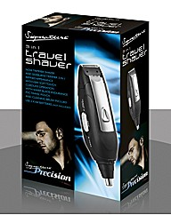 Cordless 3 in 1 Travel Shaver
