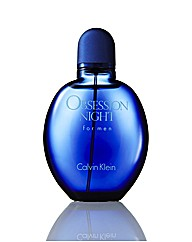 CK Obsession Night For Men 125ml EDT