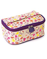 Hello Kitty Vintage Floral Vanity Case