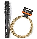 Babyliss Blonde Braided Headband & Brush