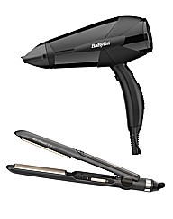 BaByliss Hairdryer and Straightener