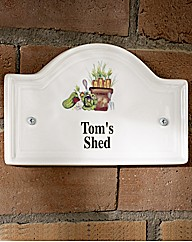 Personalised Message Plaque