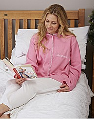 Personalised Fleecy Bed Jacket