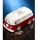 Personalised Camper Van Moneybank