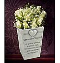 Someone Special Graveside Memorial Pot