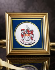Personalised Mini Family Coats Of Arms