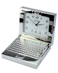 Personalised Miniature Laptop Clock