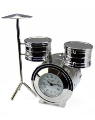 Personalised Minature Drum Kit Clock