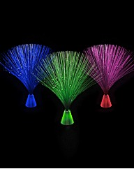 Set of Three Microfibre Optic Lights