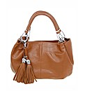 Tan Tassel Bag
