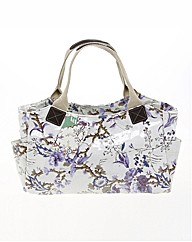 V&A Blue Floral Grab Bag