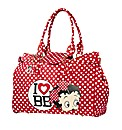 Betty Boop Large Polka Dot Bag