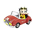Betty Boop In Sports Car