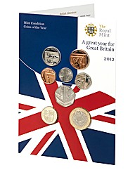 2012 Brilliant Uncirculated Set Coins
