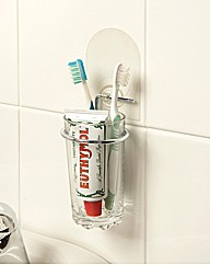 Instant Toothbrush Cup Holder
