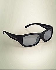 Adjustable LCD Lens Sun Glasses