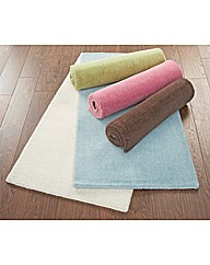 Plain Dye Wool Rugs 63x91