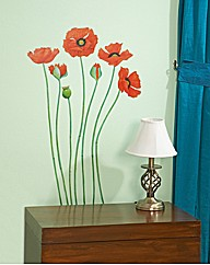 Poppies Wall Stickers