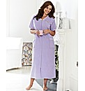 SHORT SLEEVED VELOUR GOWN 50