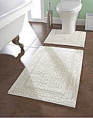 Cotton Bathmat Set Buy One Get One Free