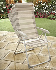 6 Position Foldaway Chair