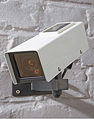 Solar Powered Replica CCTV Camera