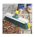2 in 1 Scrape and Sweep Garden Broom