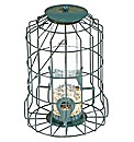 Caged Bird Feeders Seed and Peanut Set
