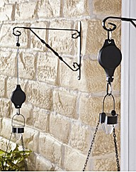 Hanging Basket Pulley BOGOF