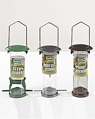 Bird Feeders Set of 3