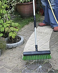 Garden Broom With Pavement Spray