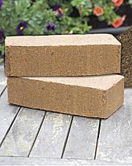 Captain Green Compost Brick 2x2pk
