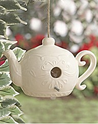 Ceramic Teapot Bird House