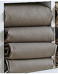 Polycotton Percale Housewife Pillowcase