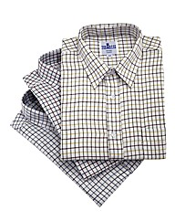 Cotton Tatterall Shirts Pack of 3